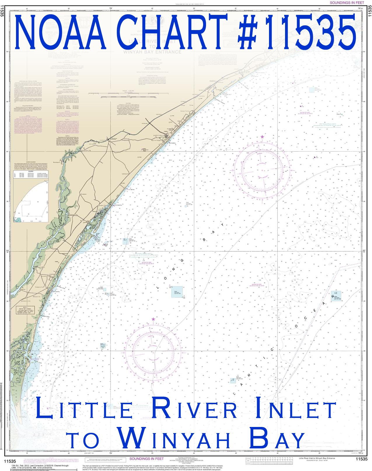 NOAA Chart #11535