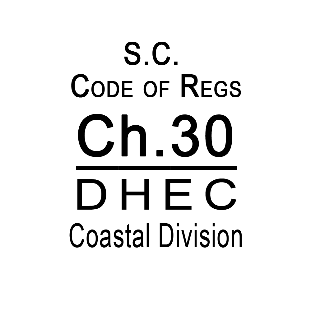SC Code of Regulations Chapter 30 DHEC Coastal Division